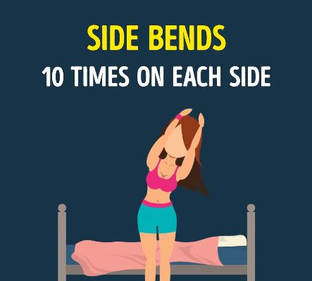side bends
