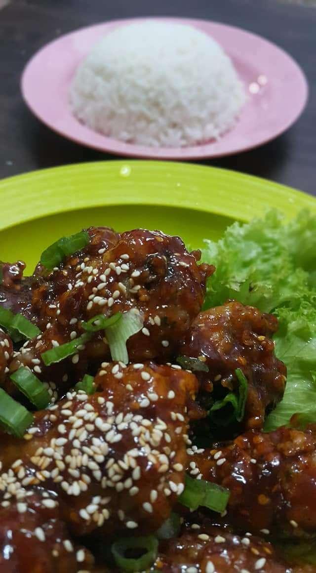 ayam goreng ala korea