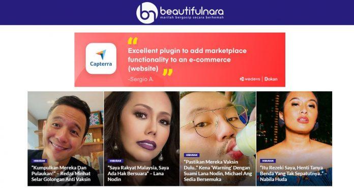 beautifulnara gosip artis Malaysia terkini